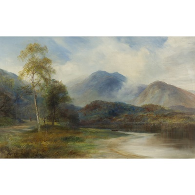 Lot 79 - JOHN MACWHIRTER  (SCOTTISH 1839-1911)