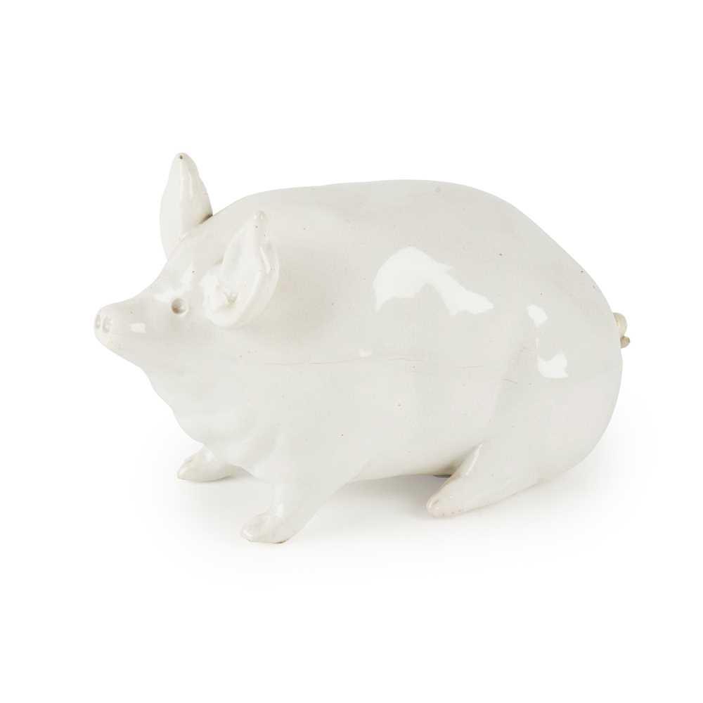 Lot 69 - A SMALL WEMYSS  WARE PIG