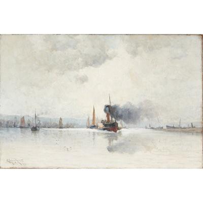 Lot 425 - EDMUND AUBREY HUNT (AMERICAN 1855-1922)