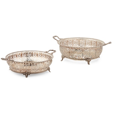 Lot 388 - A 1920s twin handled casserole frame