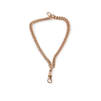Lot 125 - A 9ct gold curb link bracelet