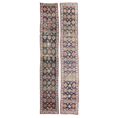 Lot 102 - A MATCHED PAIR OF NORTHWEST PERSIAN RUNNERS