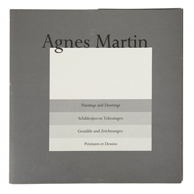 Lot 250 - AGNES MARTIN (CANADIAN/AMERICAN 1912-2004)
