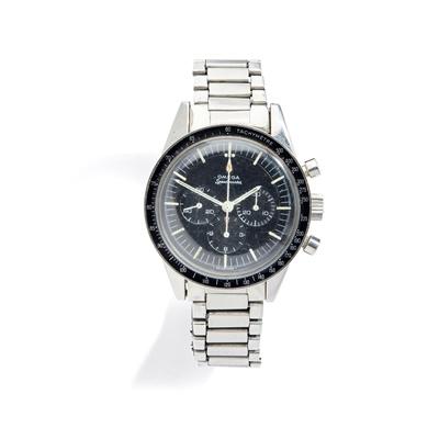 Lot 132 - Omega: a pre-moon steel wrist watch