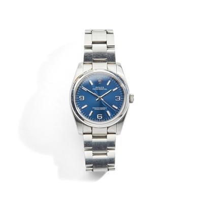 Lot 133 - Rolex: a steel wrist watch