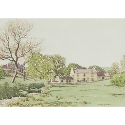 Lot 153 - GEORGE HOUSTON R.S.A, R.S.W., R.G.I (SCOTTISH 1869-1947)