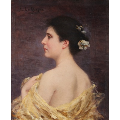 Lot 419 - FERNAND LE QUESNE (FRENCH 1856-1918)