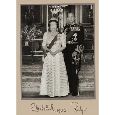 Lot 147 - Queen Elizabeth II & Prince Philip, Duke of Edinburgh