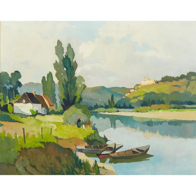 Lot 428 - GEORGE ROBIN (FRENCH 1873-1943)