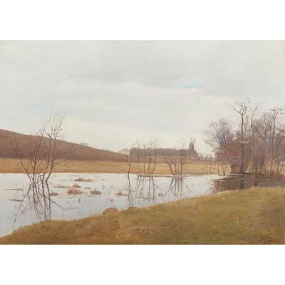 Lot 427 - HANS CHRISTIAN KNUSDEN (DANISH 1865-1947)