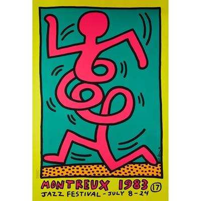 Lot 218 - KEITH  HARING  (AMERICAN  1958-1990)