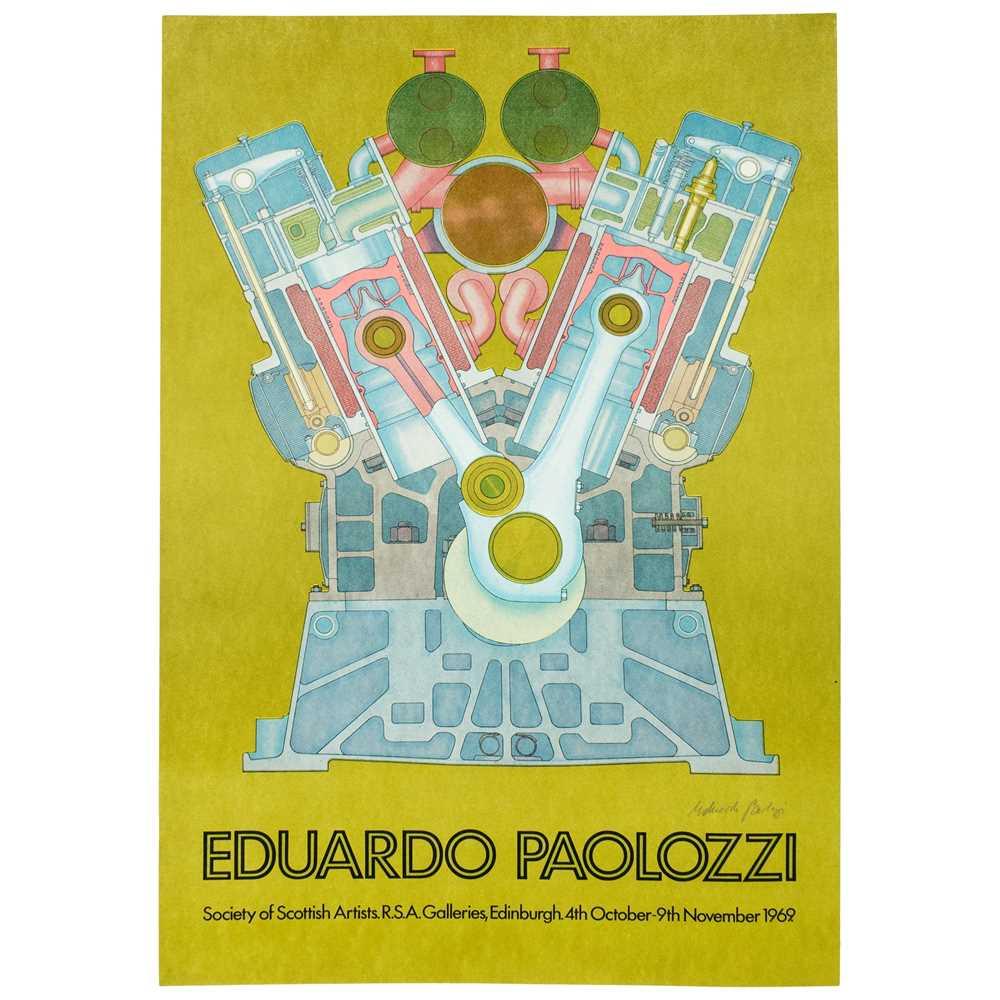 Lot 329 - AFTER EDUARDO PAOLOZZI (SCOTTISH 1924-2005)