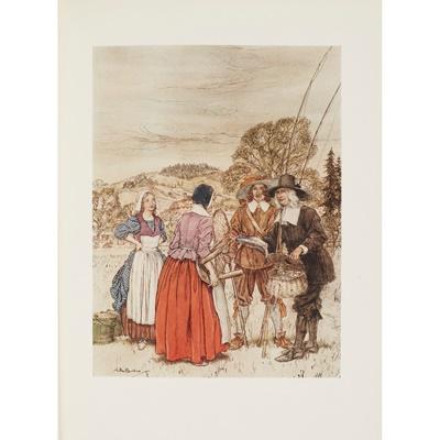 Lot 164 - Rackham, Arthur [illustrator] - Izaak Walton