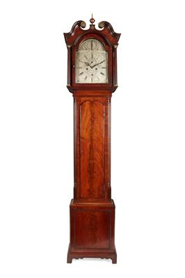 Lot 5 - A SCOTTISH GEORGE III LONGCASE CLOCK BY GEORGE MCLEAN, EDINBURGH