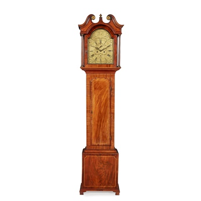 Lot 6 - A SCOTTISH GEORGE III LONGCASE CLOCK BY DAVID NORIE, LEITH