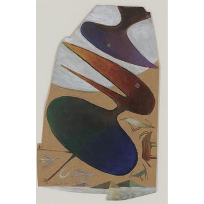 Lot 5 - DAVID LEWIS (SOUTH AFRICAN 1922-2020)