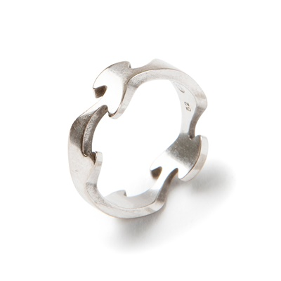 Lot 50 - A 'Fusion' ring and pendant necklace, by Georg Jensen