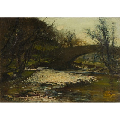 Lot 162 - JAMES CAMPBELL NOBLE R.S.A. (SCOTTISH 1846-1913)