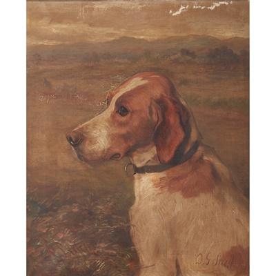 Lot 412 - DAVID GEORGE STEELL (SCOTTISH 1856-1930)