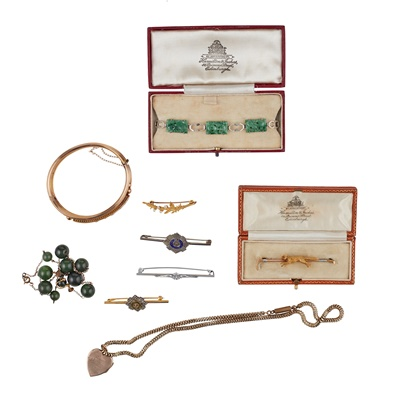 Lot 168 - A collection of gem-set jewellery