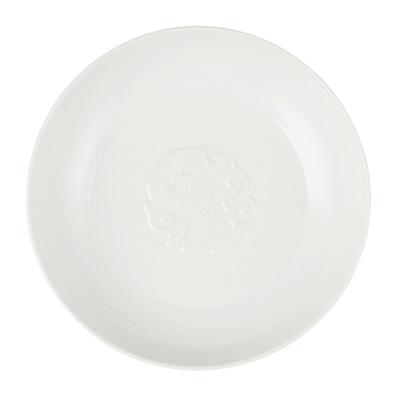 Lot 85 - WHITE-GLAZED 'KUI-DRAGON' PLATE