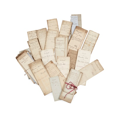 Lot 111 - Linlithgow archive SALEROOM NOTICE: PLEASE SEE ADDITIONAL INFORMATION