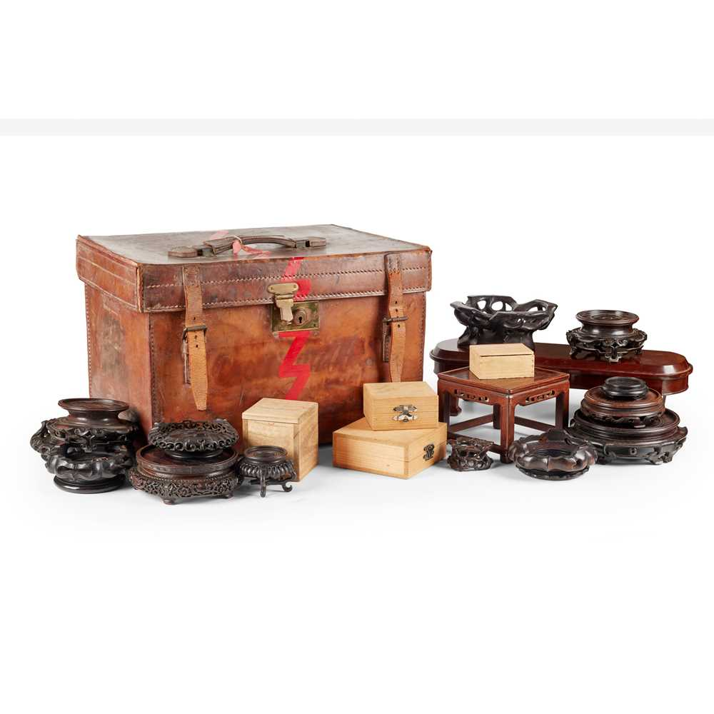 Lot 8 - GROUP OF WOODEN STANDS