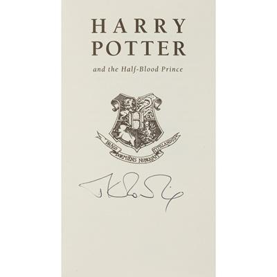 Lot 34 - Rowling, J.K.
