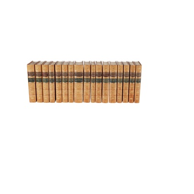 Lot 71 - Bindings - George Eliot, Thomas Carlyle, and W.M. Thackeray