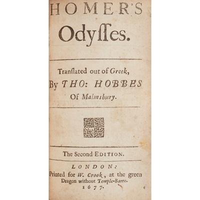 Lot 79 - Homer - Thomas Hobbes