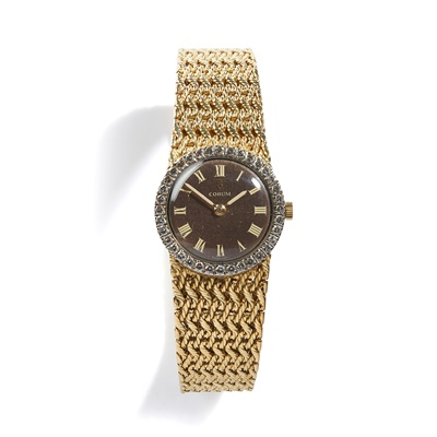 Lot 147 - Corum: a diamond set watch