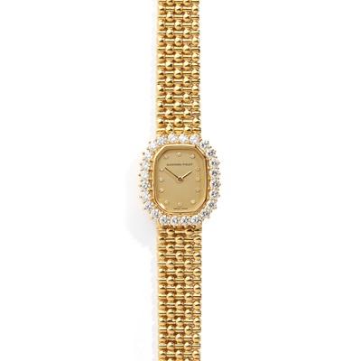 Lot 145 - Audemars Piguet: a diamond set watch