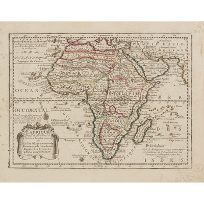Lot 19 - A collection of African Maps