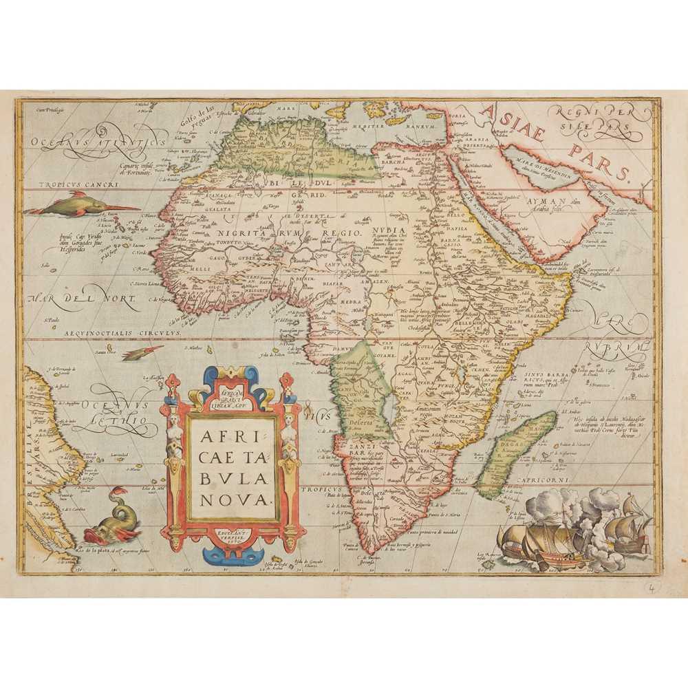 Lot 17 - [Map of Africa] Ortelius, Abraham
