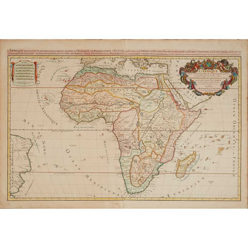 Lot 15 - [Map of Africa] Jaillot, H., after Sanson