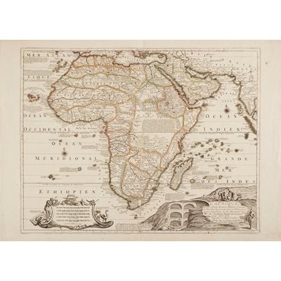 Lot 14 - [Map of Africa] Fer, Nicolas de