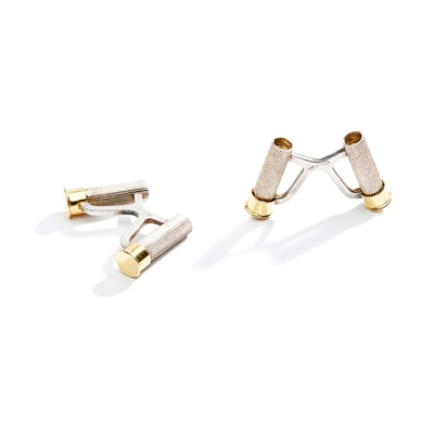 Lot 51 - A pair of cufflinks, by Hermes