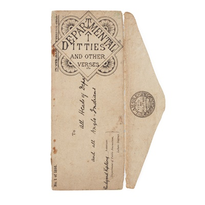 Lot 81 - Kipling, Rudyard SALEROOM NOTICE: SLIPCASE A LITTLE SPLIT
