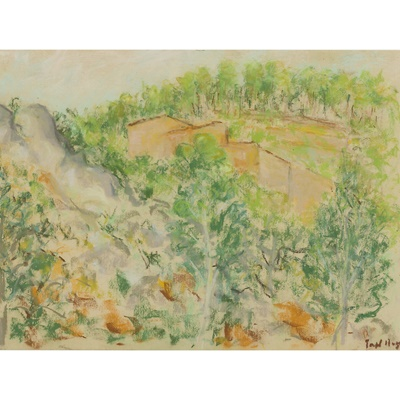Lot 45 - PAUL LUCIEN MAZE (FRENCH 1887-1979)