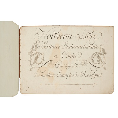 Lot 39 - Calligraphy - Rossignol, Louis