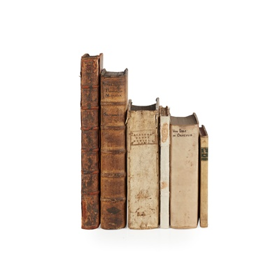 Lot 40 - Continental Books, 6 volumes