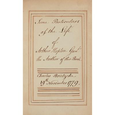 Lot 127 - Three 17th and 18th century books