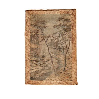 Lot 213 - LARGE JAPANESE TAPESTRY