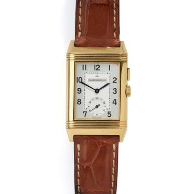 Lot 139 - Jaeger-LeCoultre: a Reverso wrist watch