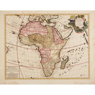 Lot 13 - [Map of Africa] De Lisle, Guillaume