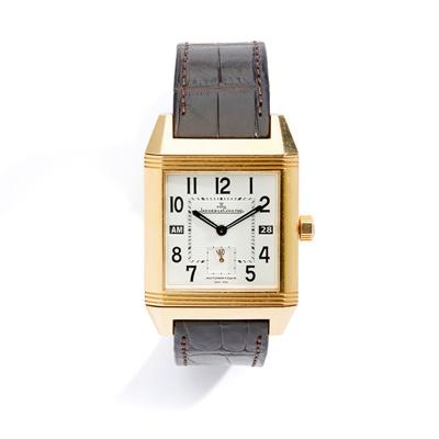 Lot 137 - Jaeger-LeCoultre: a Reverso wrist watch