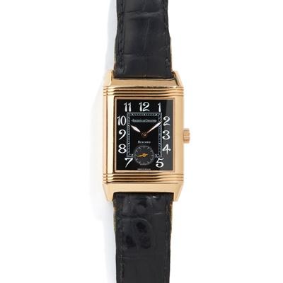 Lot 151 - Jaeger-LeCoultre: a Reverso wrist watch