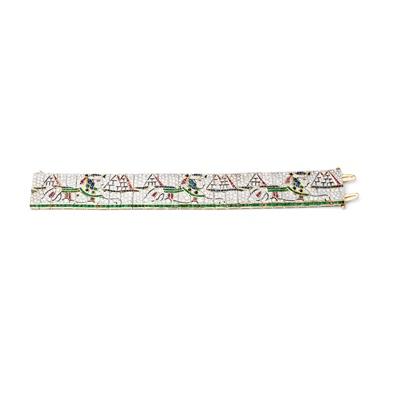Lot 117 - A gem-set bracelet
