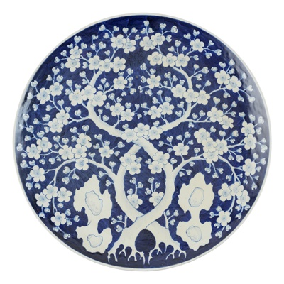 Lot 223A - ARITA 'CRACKED ICE AND PRUNUS' CHARGER