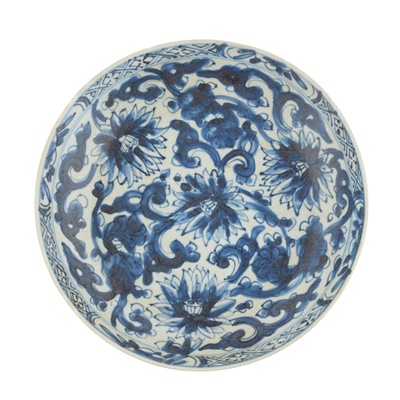 Lot 150A - BLUE AND WHITE PLATE